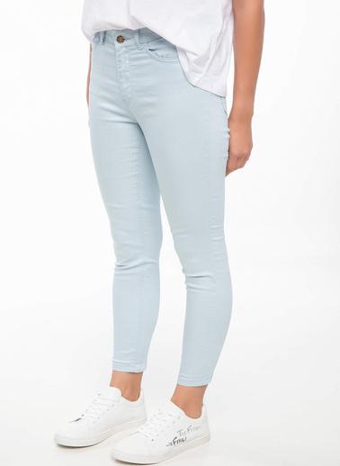DeFacto Anna Yüksek Bel Süper Skinny  Pantolon Mavi